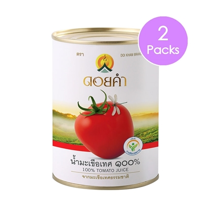 Picture of Doikham 100% Tomato Juice 565 g (2 packs)