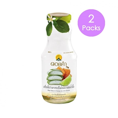 Picture of Doikham Aloe Vera in Honey and Lemon Drink 250 ml. (2 packs)