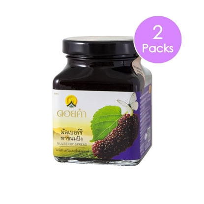 Picture of Doikham Mulberry Spread 220 g (2 packs)