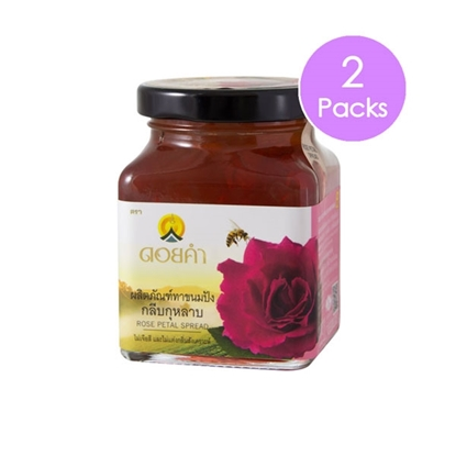 Picture of Doikham Rose Petal Spread 220 g (2 packs)