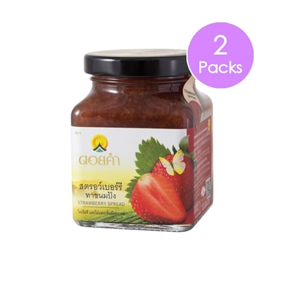 Picture of Doikham Strawberry Spread 220 g (2 packs)