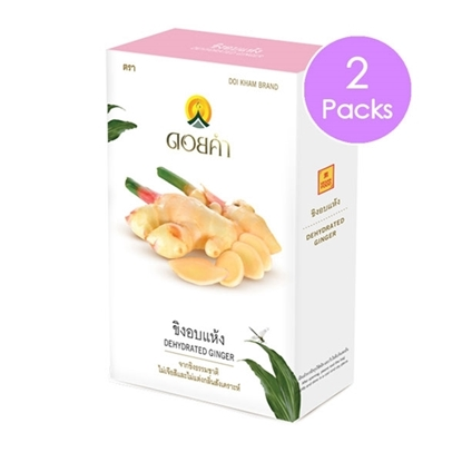 Picture of Doikham Dried Ginger 100 g (2 packs)
