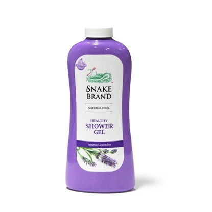 Picture of Snake Brand Prickly Heat Aroma Lavender Shower Gel 500ml (Refill)