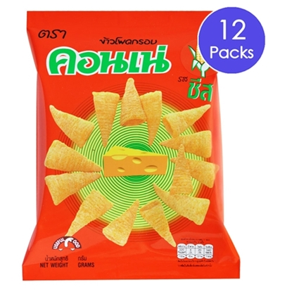 Picture of Cornae Corn Snack - Cheese 14 g (12 Packs)