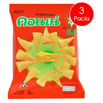 Picture of Cornae Corn Snack - Cheese 56 g (3 Packs)