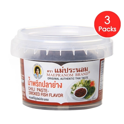 Picture of Chilli Paste-Smoked Fish Flavour 90 g (3 Packs)