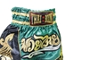 Picture of Green Thai Boxing Shorts