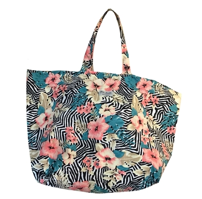 Picture of Minimoons floral big tote