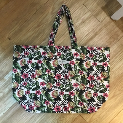 Picture of Minimoons pineapple big tote