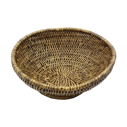 Picture of Circle rattan fruit tray Size L