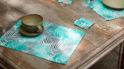 Picture of ผ้ารองจาน Cotton ลาย Palm