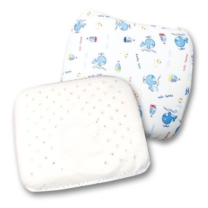 Picture of Mekin Baby Infant Latex Pillow, for Newborns & Infants baby