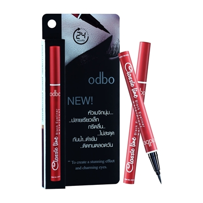 Picture of ODBO classic line black eyeliner waterproof