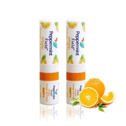Picture of Peppermint field Inhaler Orange Scent (2 cc) (2 Pieces)
