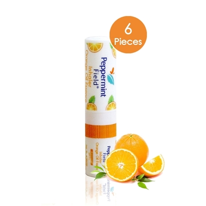 Picture of Peppermint field Inhaler Orange Scent (2 cc) (6 Pieces)