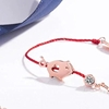 Picture of Red String Bracelet with Pig