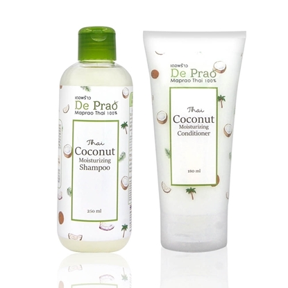 Picture of De prao Coconut Shampoo and Conditioner set