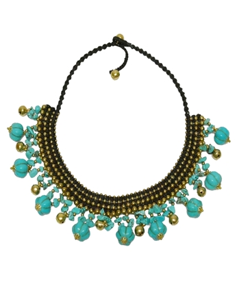 Picture of Blue Turquoise Stone Necklet