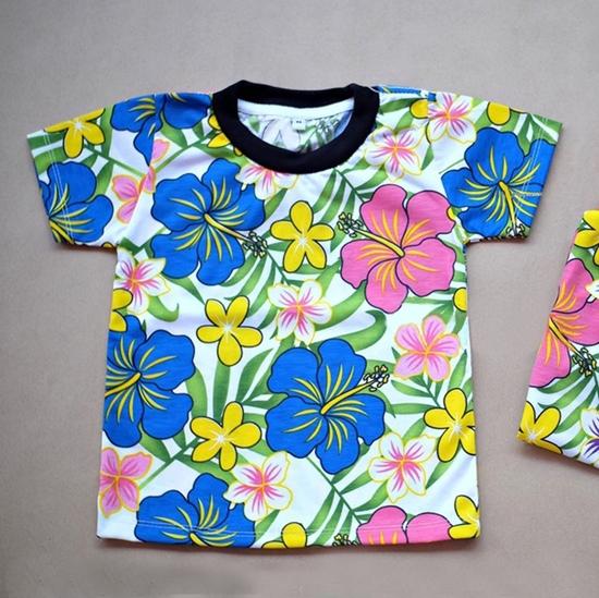 Picture of เสื้อสงกรานต์ลายดอก สำหรับเด็ก