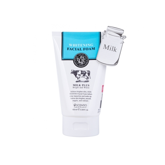 Picture of Scentio Milk Plus Whitening Q10 Facial Foam 100ml