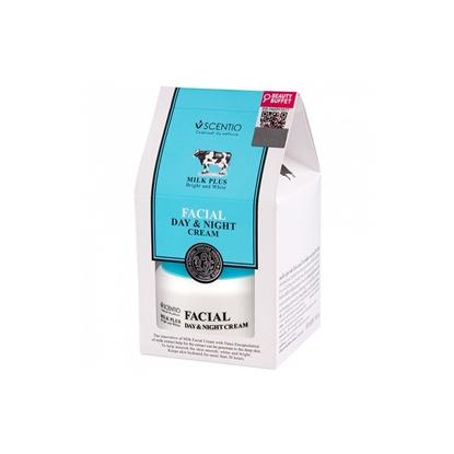 Picture of Scentio Milk Plus Bright and White Facial Day & Night Cream 450ml