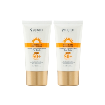 Picture of (2 Pcs.) Scentio Ultimate Sun Protection Essence For Body SPF 50+ PA+++ 60ml