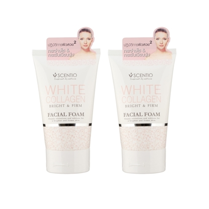 Picture of (2 Pcs.) Scentio White Collagen Mind Facial Foam 100 g.