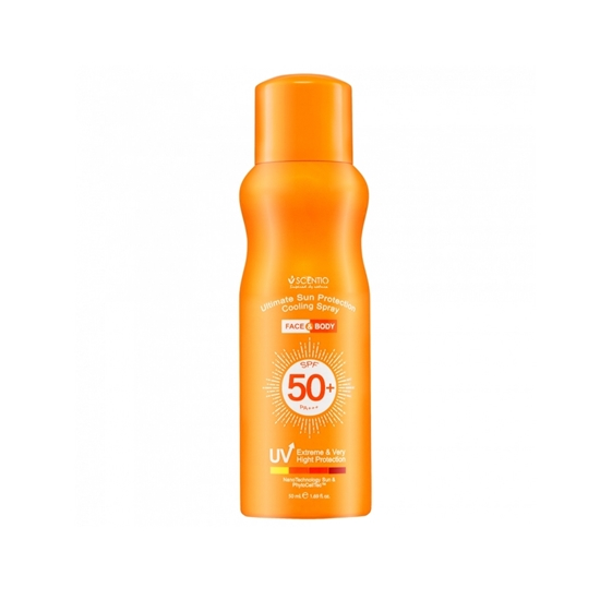 Picture of Scentio Ultimate Sun Protection Cooling Spray Face & Body SPF50+ PA+++ 50ml