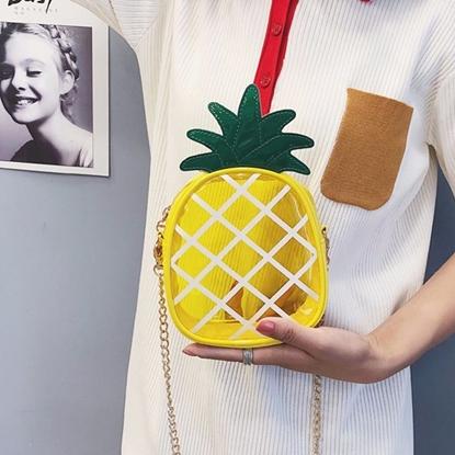 Picture of กระเป๋าสะพายข้างลายสับปะรด