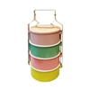 Picture of Thai Enamelware - Sweet Lunch Box 4 Tier (3 dishes )