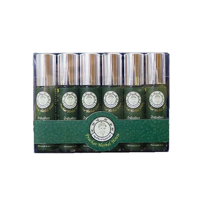 Picture of Green Herbal Oil, 8ml.  (Cool formular) (6 pcs.)