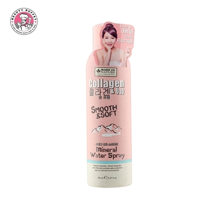 Picture of MADE IN NATURE COLLAGEN&Q10 SMOOTH&BRIGHT MINERAL WATER SPRAY 150ML.