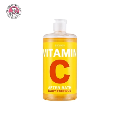 Picture of SCENTIO VITAMIN C AFTER BATH BODY ESSENCE 450 ml.