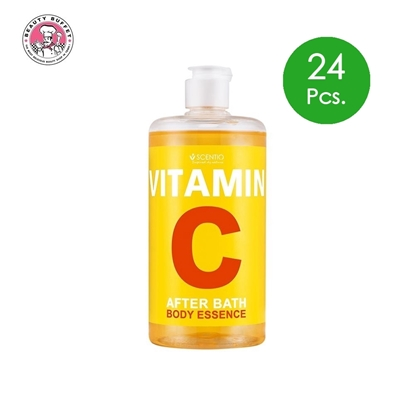 Picture of (24pcs.) SCENTIO VITAMIN C AFTER BATH BODY ESSENCE 450 ml.