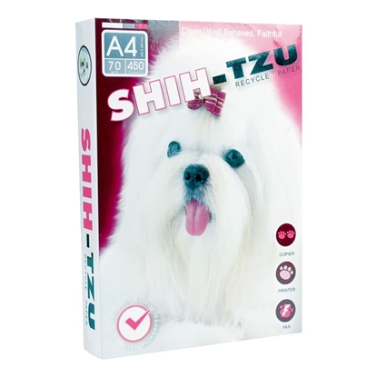 Picture of SHIH-TZU COPY PAPER 70 gsm. 1Ream
