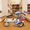 Picture of Tricycle Model Handmade - The National Flag of Thailand