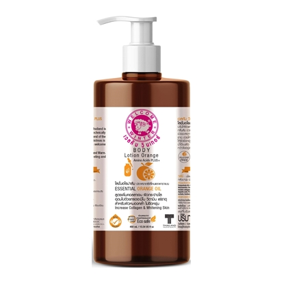 Picture of Body Lotion Aroma Orange SLS-Free and Silicone-Free  460ml.