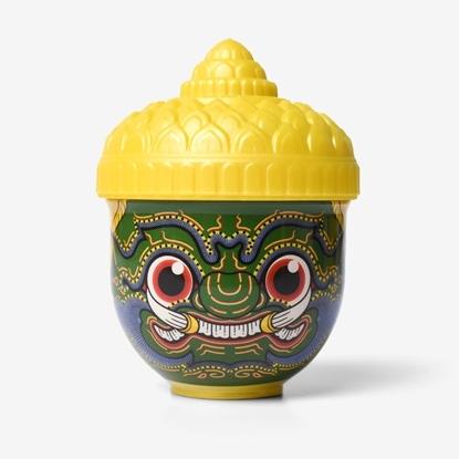 Picture of THAI TRADITIONAL HERBAL INHALER Ramakien Herbal Inhaler Lemongrass Scent - Thotsakan Yadom
