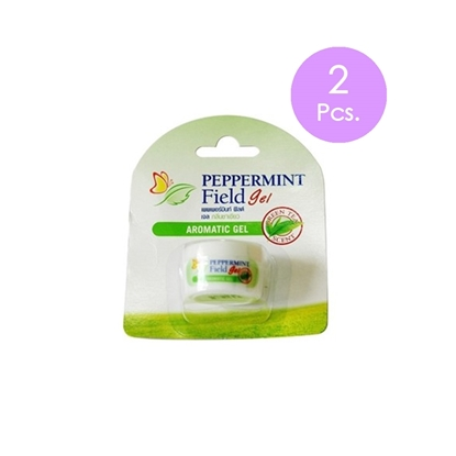 Picture of (2 Pcs.) Peppermint Field Gel Green Tea Scent (8 cc) New look