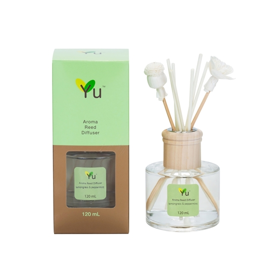 Picture of Aroma Reed Diffuser lemongrass & peppermint (120 ml.)