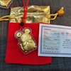 Picture of Red String Necklet  with Mouse