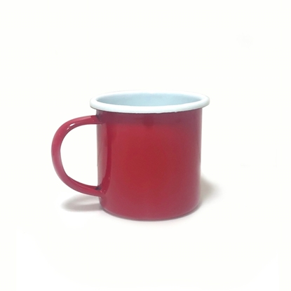 Picture of Thai Enamelware - Red Cup 9cm.