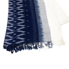 Picture of Indigo cotton thai pattern scarf