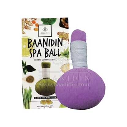 Picture of BAANIDIN Lavender Herbal Compress Ball (60g)