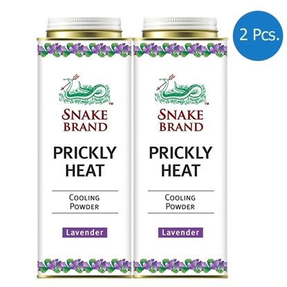 Picture of Snake Brand Prickly Heat Lavender Cooling Powder 280g (2 Pcs.)