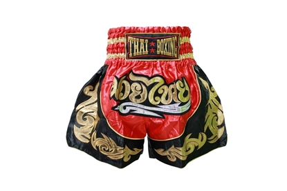 Picture of Red Thai Boxing Shorts