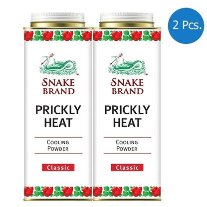 Picture of Snake Brand Prickly Heat Classic Cooling Powder 280g (2 Pcs.)