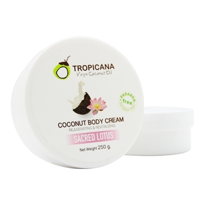 Picture of Coconut Body Cream With Sacred Lotus 250 g.
