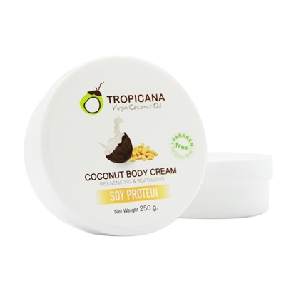 Picture of Coconut Body Cream With Soy Protein 250 g.