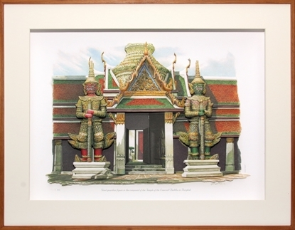 Picture of 3D Picture Frame - Giants of the Temple of The Emerald Buddha (กรอบรูป รูปยักษ์คู่วัดพระแก้ว)